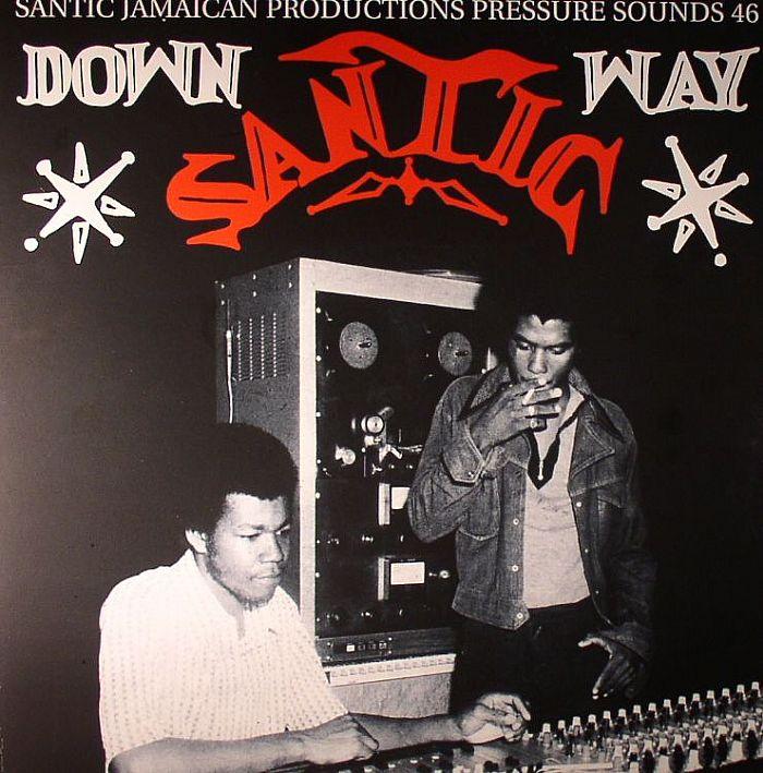 VARIOUS - Down Santic Way: Santic Jamaican Productions