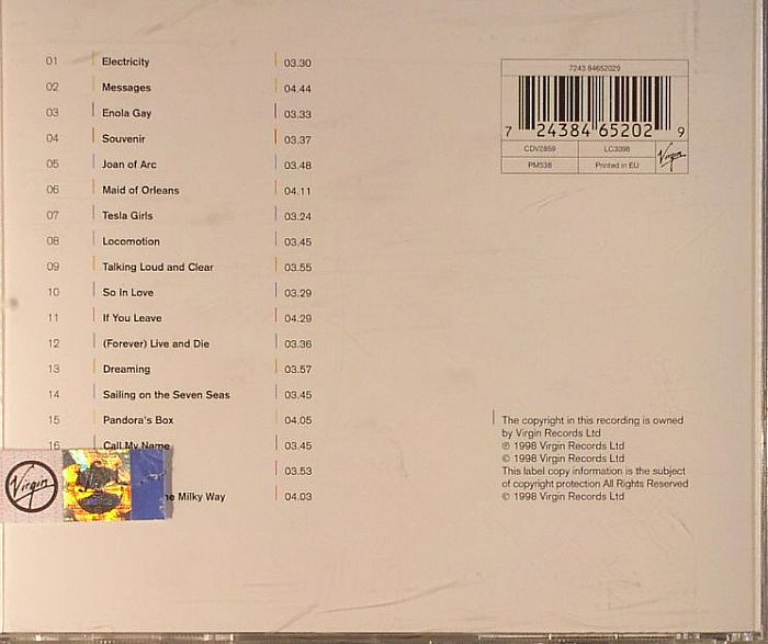 Orchestral Manoeuvres In The Dark Aka Omd The Omd Singles