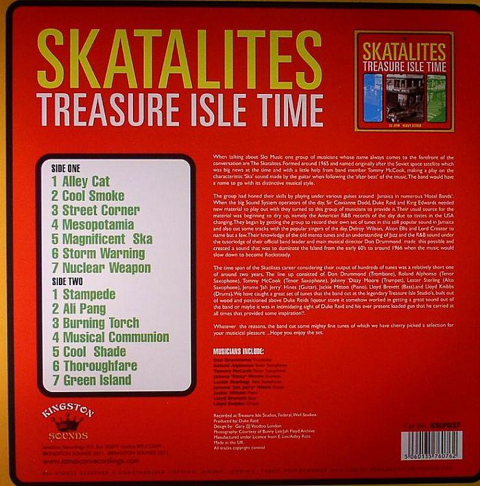 SKATALITES - Treasure Isle Time