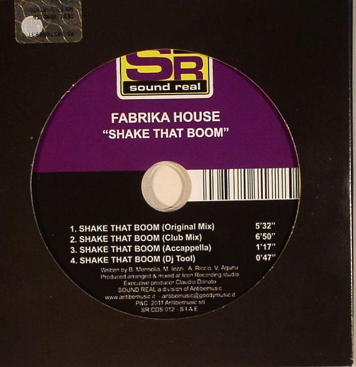 FABRIKA HOUSE - Shake That Boom