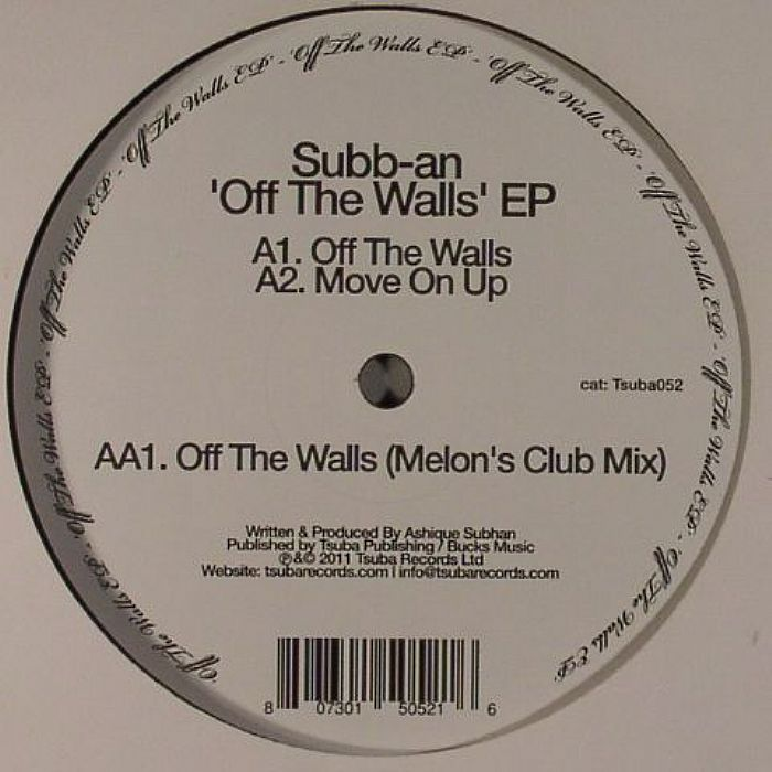 SUBB AN - Off The Walls EP