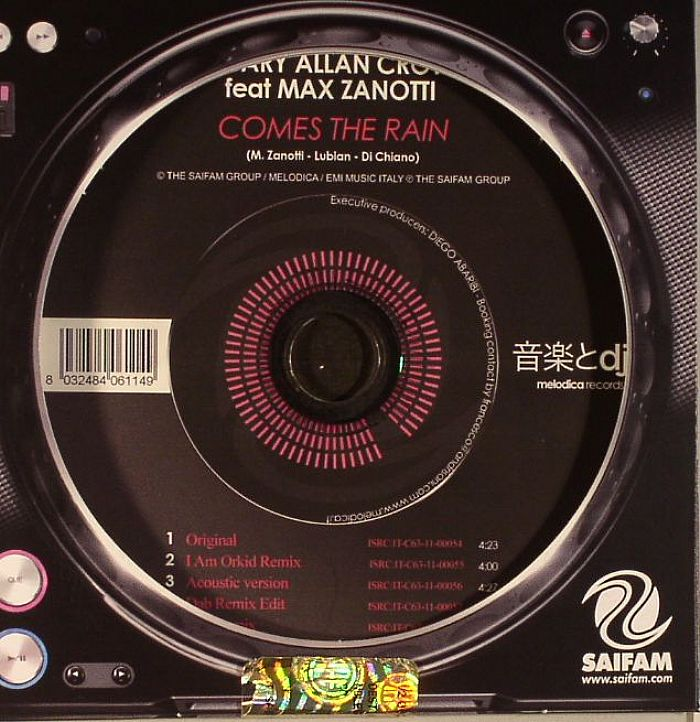 SCARY ALLAN CROW feat MAX ZANOTTI - Comes The Rain