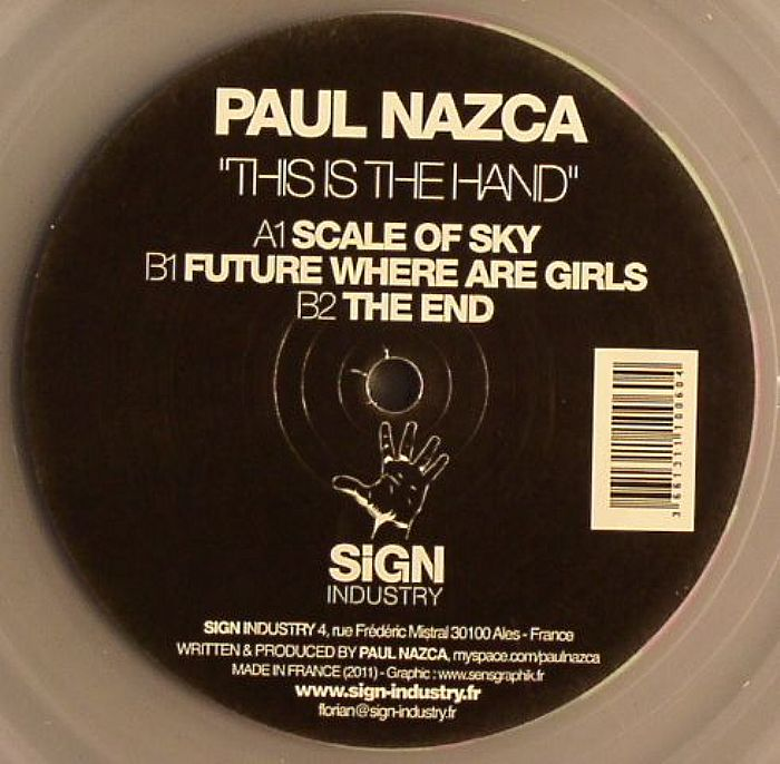 NAZCA, Paul - This Is The Hand