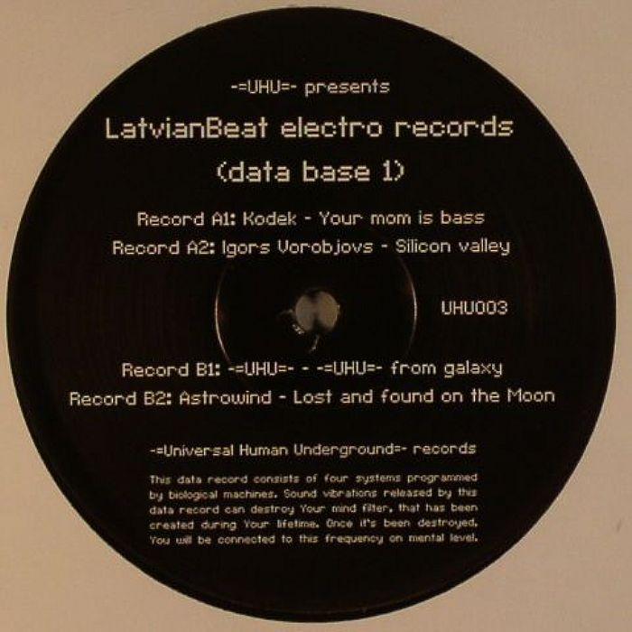 KODEK/IGORS VOROBJOVS/UHU/ASTROWIND - LatvianBeat Electro Records Compilation (Data Base 1)
