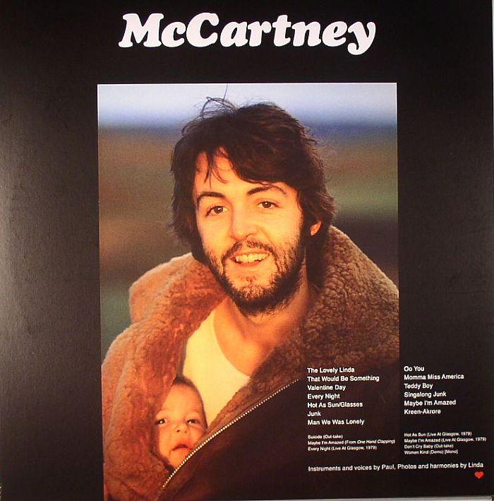 McCARTNEY, Paul - McCartney