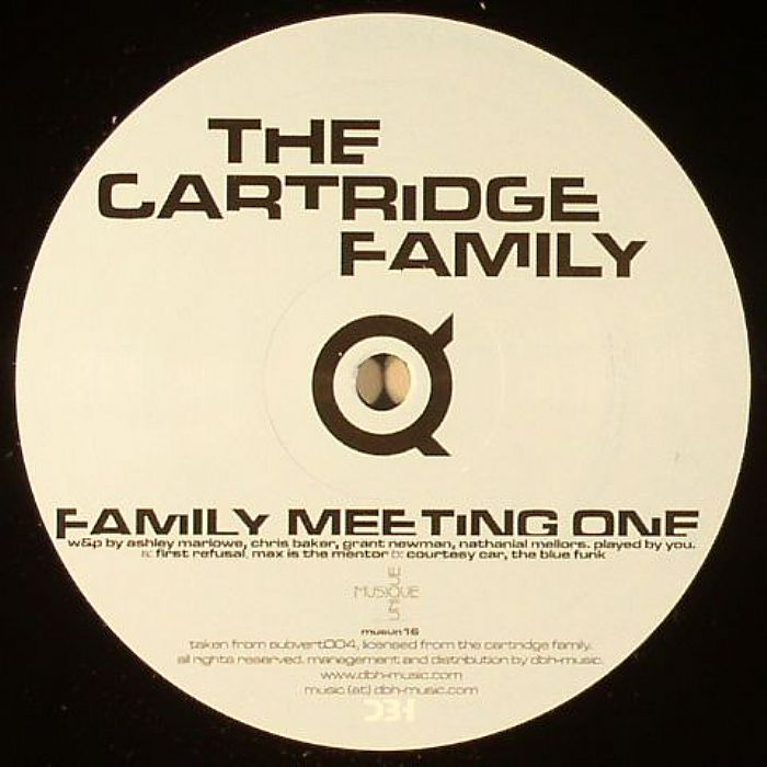 CARTRIDGE FAMILY, The - Family Meeting One