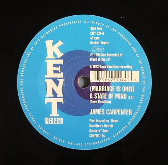 PARAMOUNT FOUR, The/JAMES CARPENTER - Sorry Ain't The Word