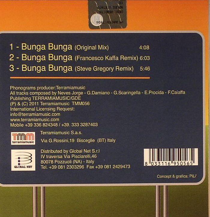 GEGE/LA RENZO ARCORE ORQUESTRA - Bunga Bunga