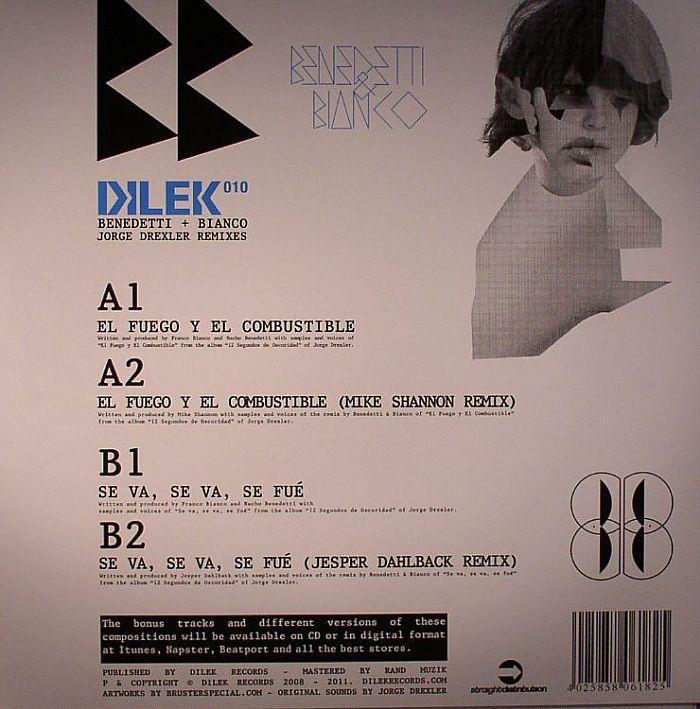 BENEDETTI/BIANCO - Jorge Drexler Remixes