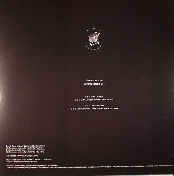HANNULELAURI - Dysfunction EP
