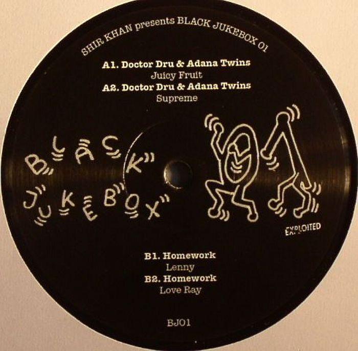 DOCTOR DRU/ADANA TWINS/HOMEWORK - Black Jukebox 01