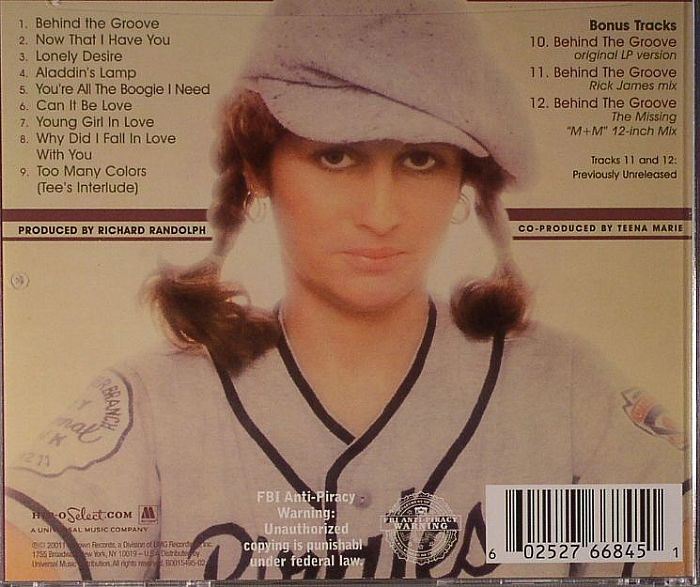 MARIE, Teena - Lady T (expanded edition)