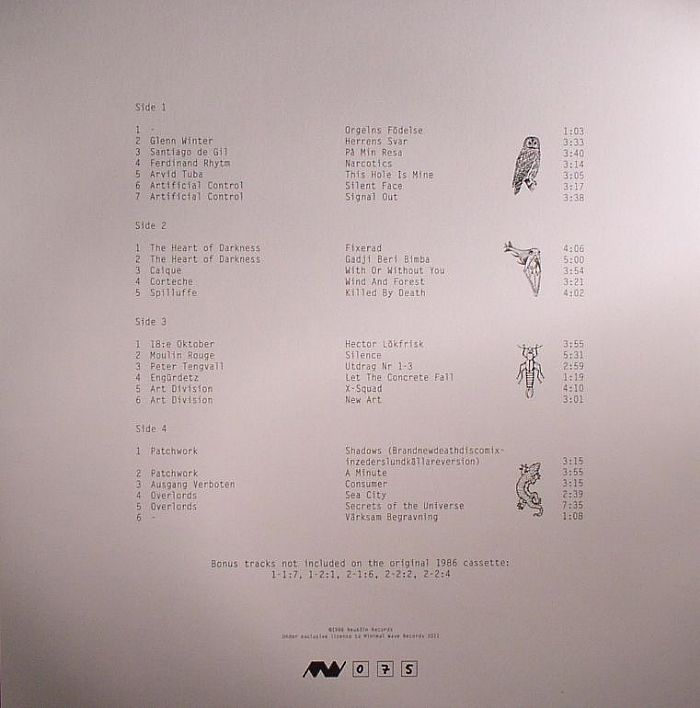 VARIOUS - Orgelvark: Swedish Cassette Compilation (Et Stadig Samling Svensk Syntmusik 1986)