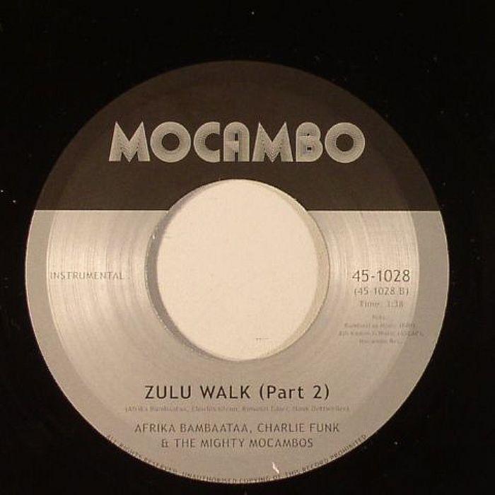 BAMBAATAA, Afrika/CHARLIE FUNK/KING KAMONZI/THE MIGHTY MOCAMBOS - Zulu Walk Parts 1 & 2