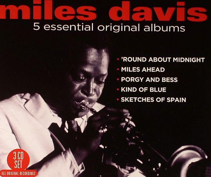 Miles Davis Miles Davies 5 Essential Original Albums