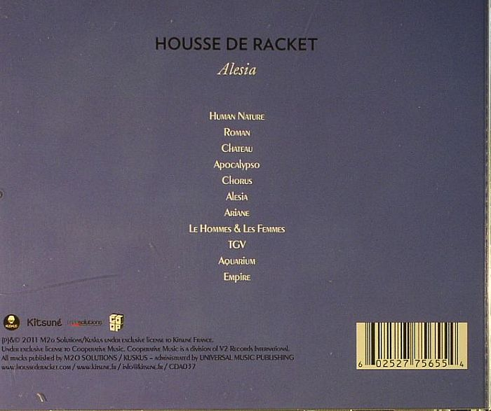 Housse de racket alesia vinyl at juno records for Housse de racket chateau
