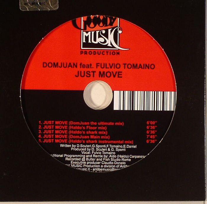 DOMJUAN feat FULVIO TOMAINO - Just Move