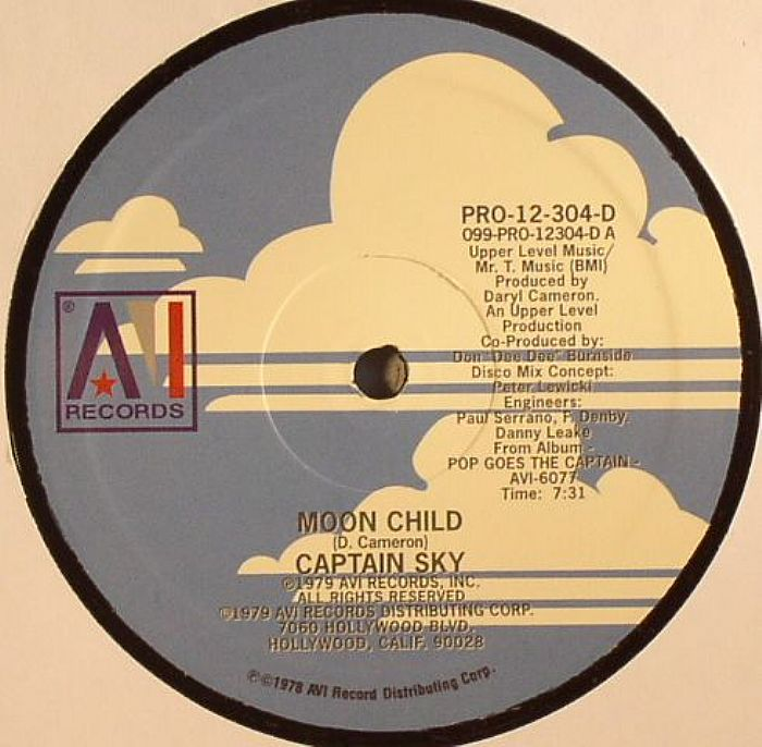 CAPTAIN SKY - Moon Child