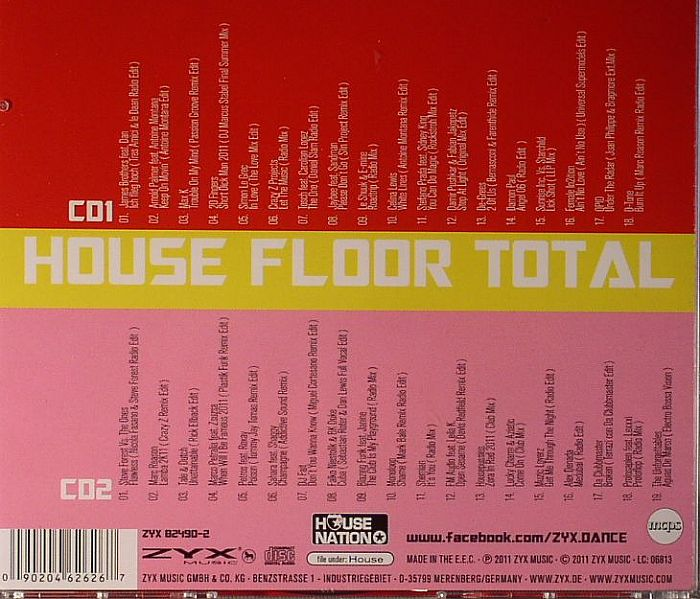 VARIOUS - House Floor Total: The Finest In House Limited Edition