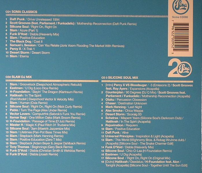 VARIOUS - Soma Records 20 Years