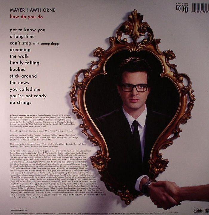HAWTHORNE, Mayer - How Do You Do