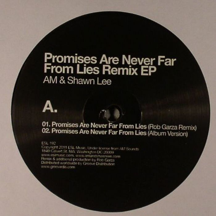AM/SHAWN LEE - Promises Are Never Far From Lies Remix EP