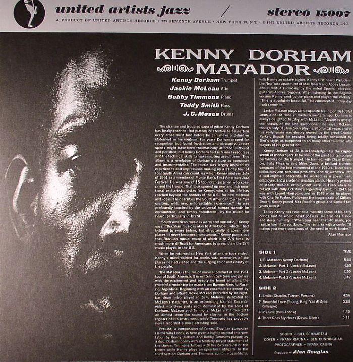 DORHAM, Kenny - Matador