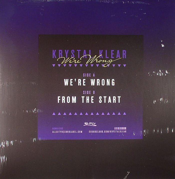 KRYSTAL KLEAR - We're Wrong