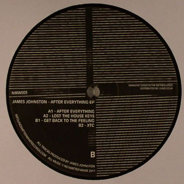 JOHNSTON, James - After Everything EP