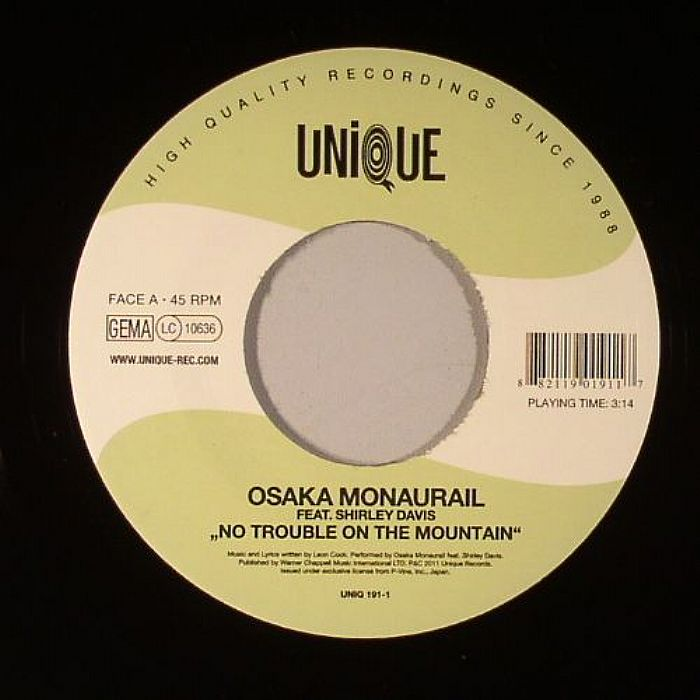 OSAKA MONAURAIL - No Trouble On The Mountain