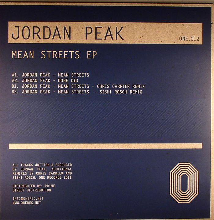 PEAK, Jordan - Mean Streets EP