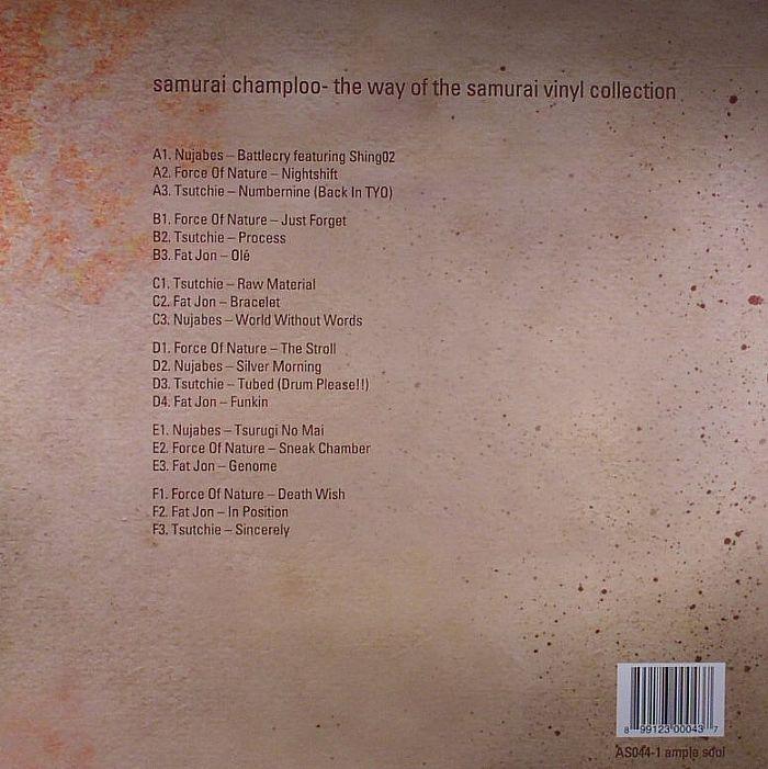 VARIOUS Samurai Champloo: The Way Of The Samurai vinyl at