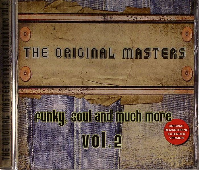 VARIOUS - The Original Masters: Funky Soul & Much More Vol 2