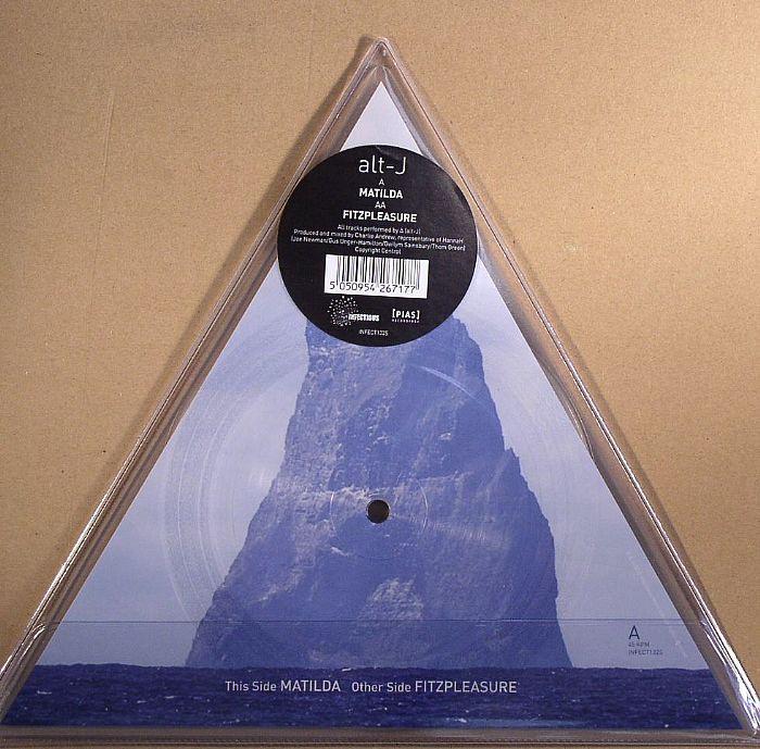 Alt-J - Matilda (CD Single Promo)