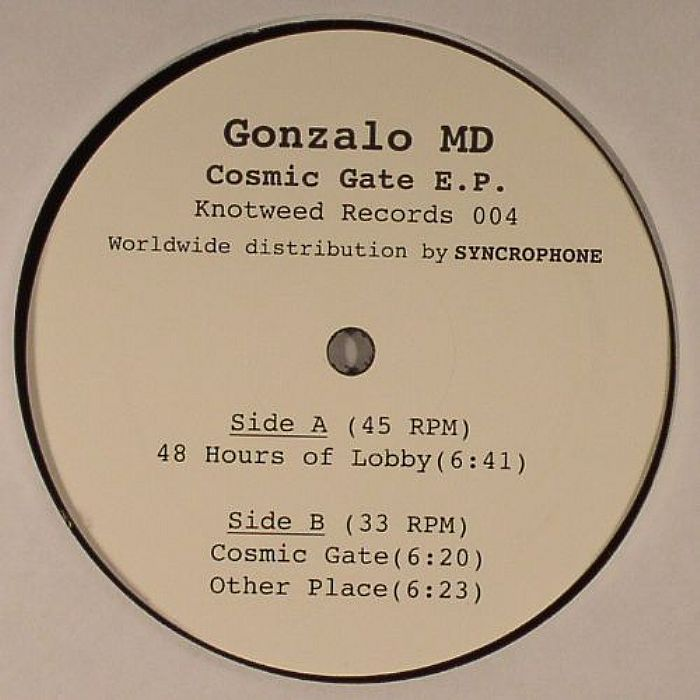 MD, Gonzalo - Cosmic Gate EP