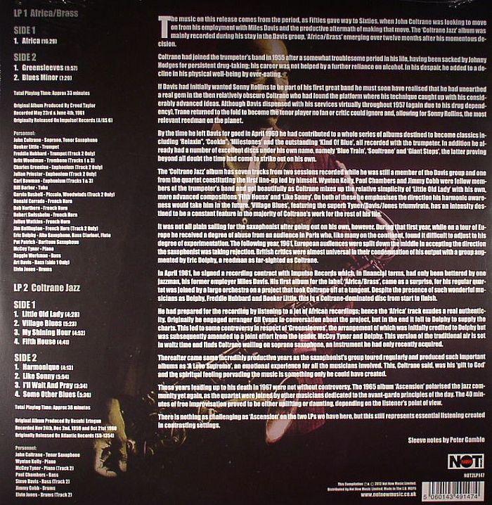 COLTRANE, John - Africa/Brass/Coltrane Jazz