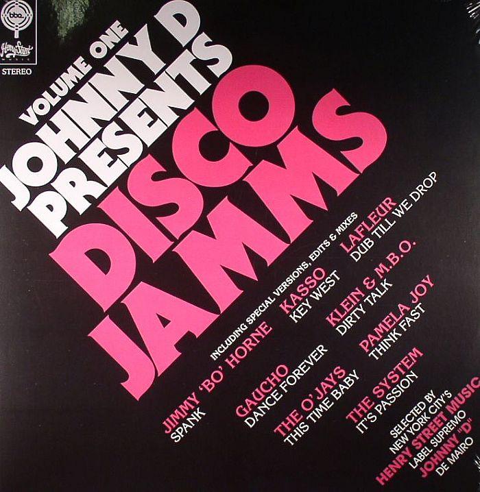 JOHNNY D/VARIOUS - Disco Jamms Volume One