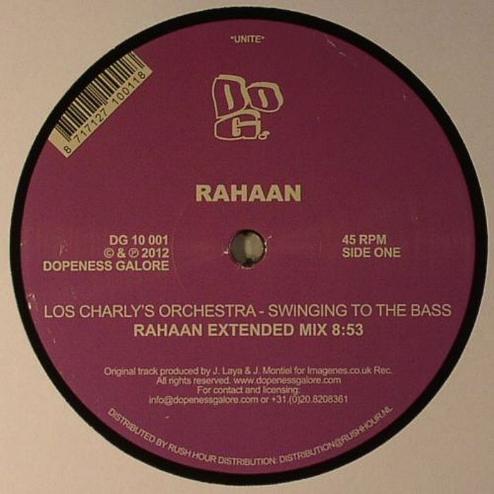 RAHAAN/LOS CHARLY'S ORCHESTRA - Swinging To The Bass