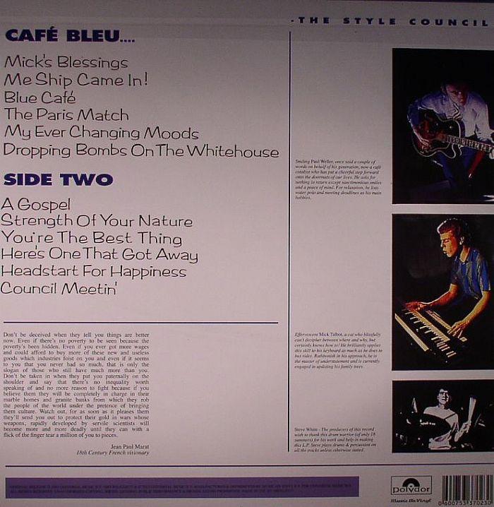 The Style Council Cafe Bleu Vinyl At Juno Records