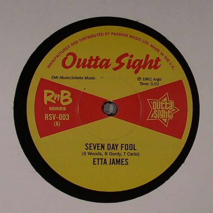 JAMES, Etta/TINY TOPSY - Seven Day Fool