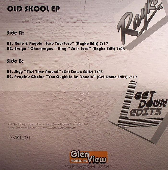 RAYKO/GET DOWN EDITS - Old Skool EP