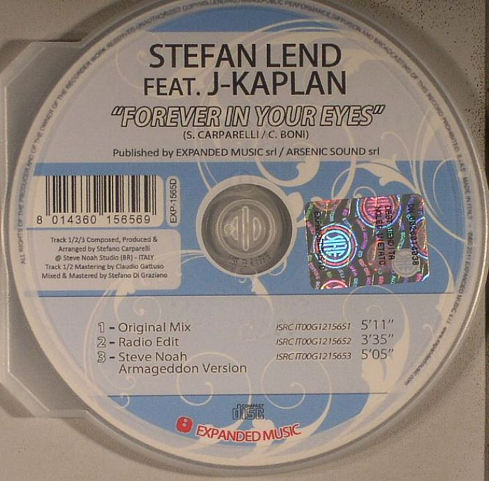 LEND, Stefan feat J KAPLAN - Forever In Your Eyes