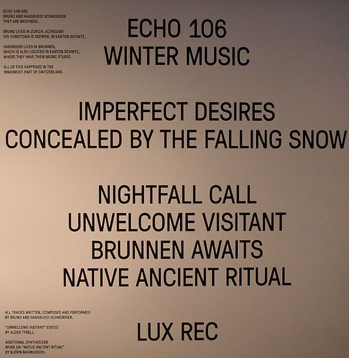 ECHO 106 - Winter Music