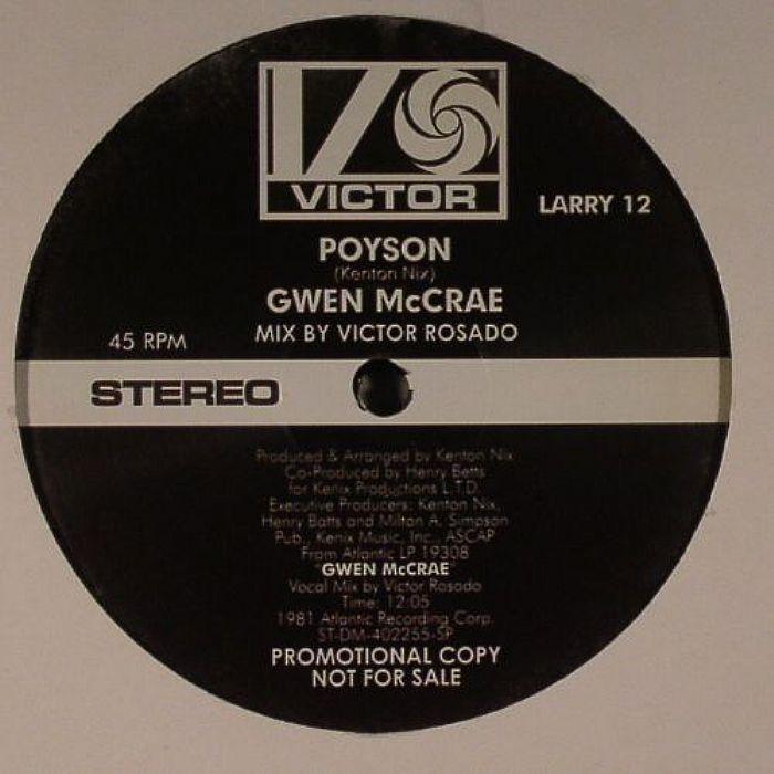 McRAE, Gwen - Poyson (Victor Rosado mix)