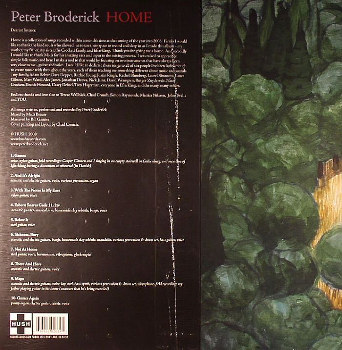 BRODERICK, Peter - Home