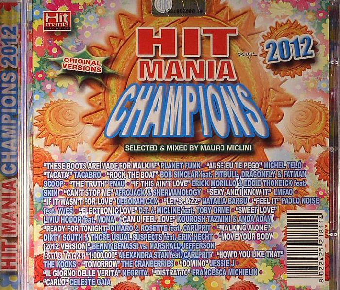 MICLINI, Mauro/VARIOUS - Hit Mania Champions 2012