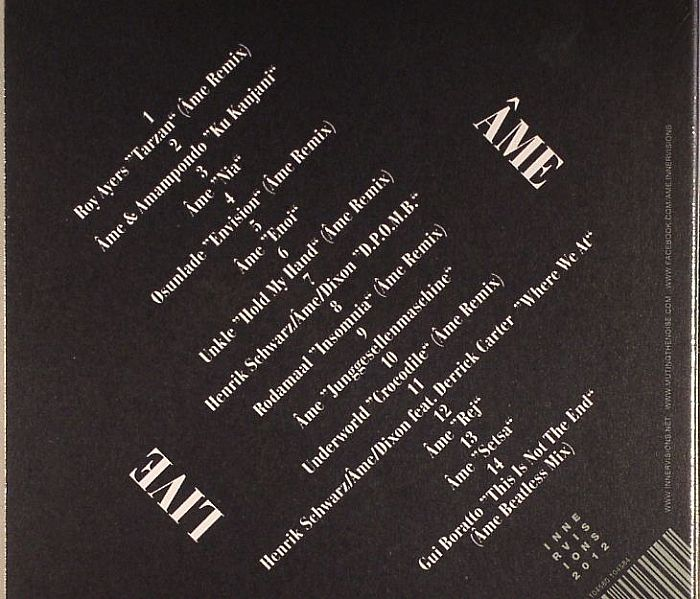AME/VARIOUS - Live