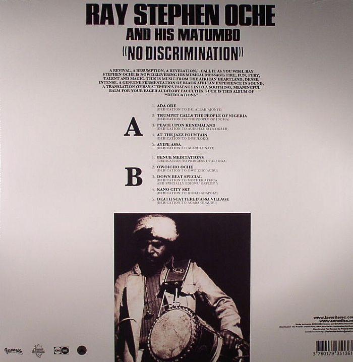 STEPHEN OCHE, Ray & HIS MATUMBO - No Discrimination