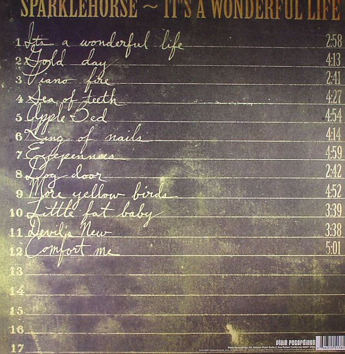Sparklehorse It S A Wonderful Life Vinyl At Juno Records