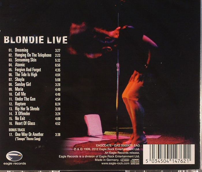 Blondie Live Vinyl At Juno Records